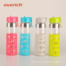 promotional healthy insulated double wall glass water bottle